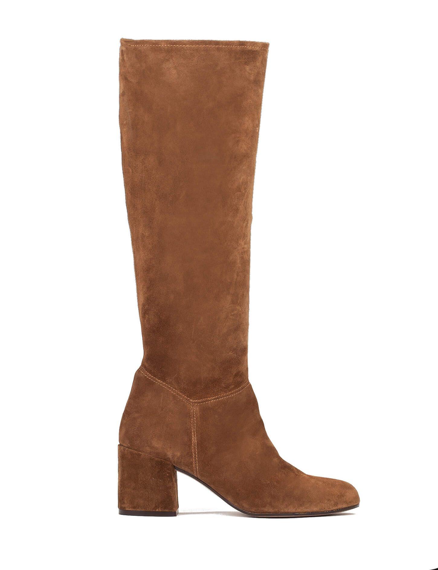 miriam giovanelli serie velvet outfit botas altas tacon ancho blog pura lopez