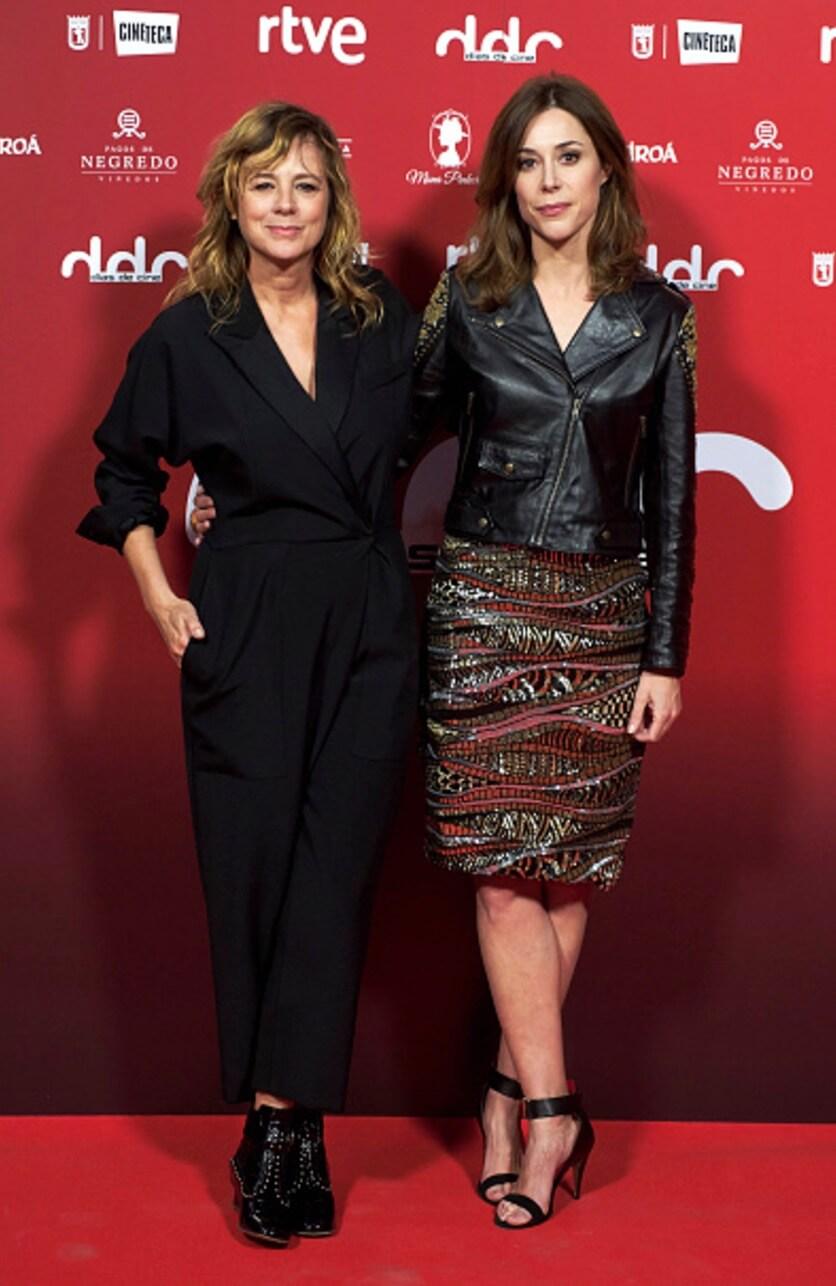 Premios Dias De Cine 2017 actrices Ruth Diaz y Emma Suarez alfombra roja