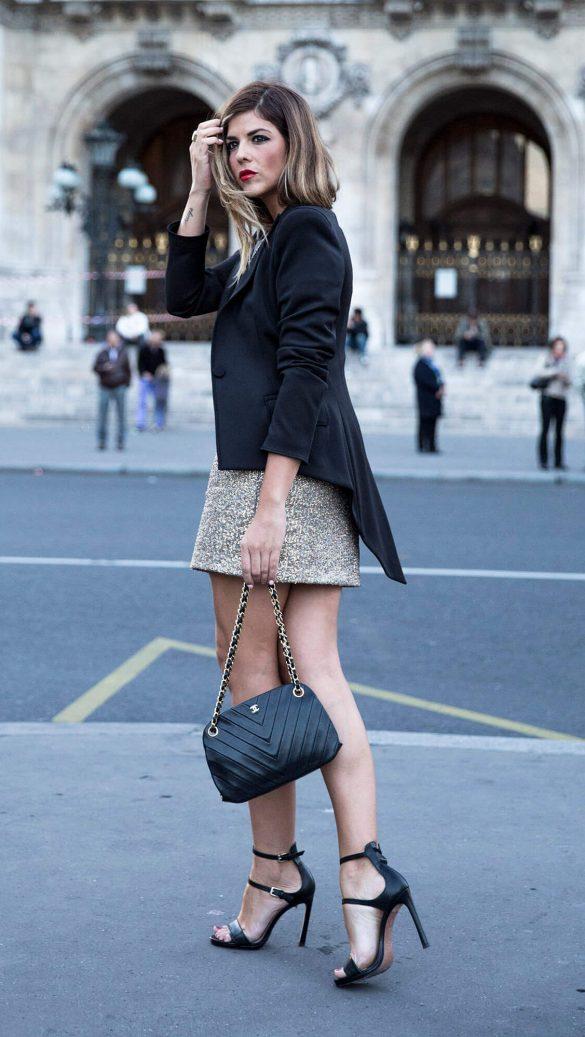 sandalias color negro verano tendencias streetstyle