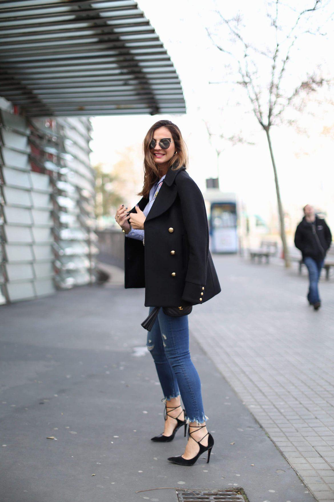 salones de terciopelo negro con cordones outfit lady addict
