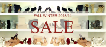 Fall winter 2013/14 sale
