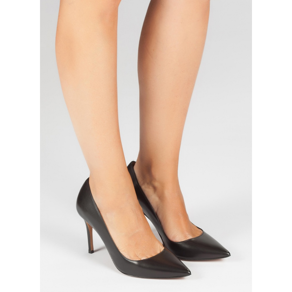 Black high heel pumps - online shoe store Pura Lopez