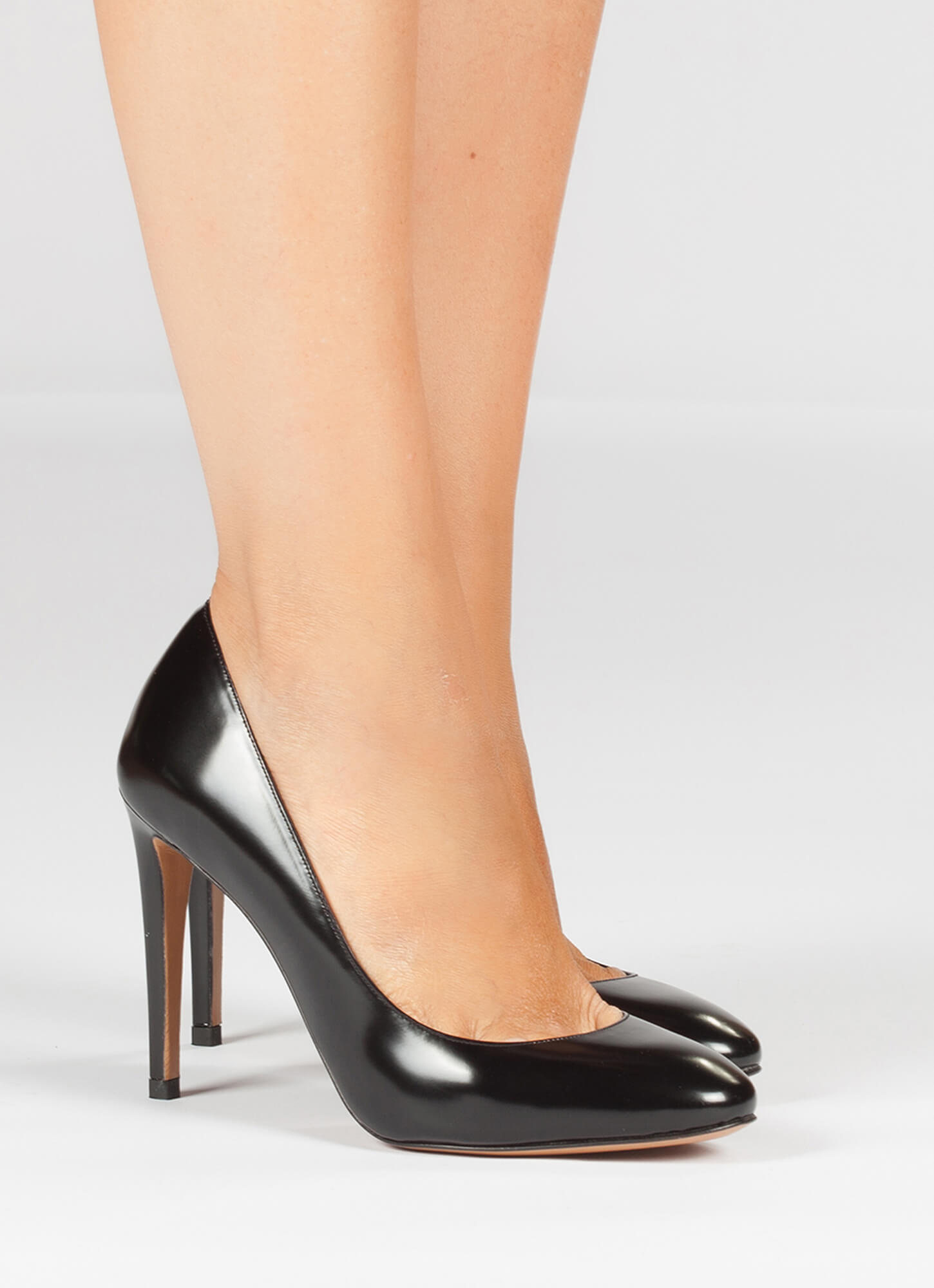 Black high heel shoes - online shoe store Pura Lopez ...