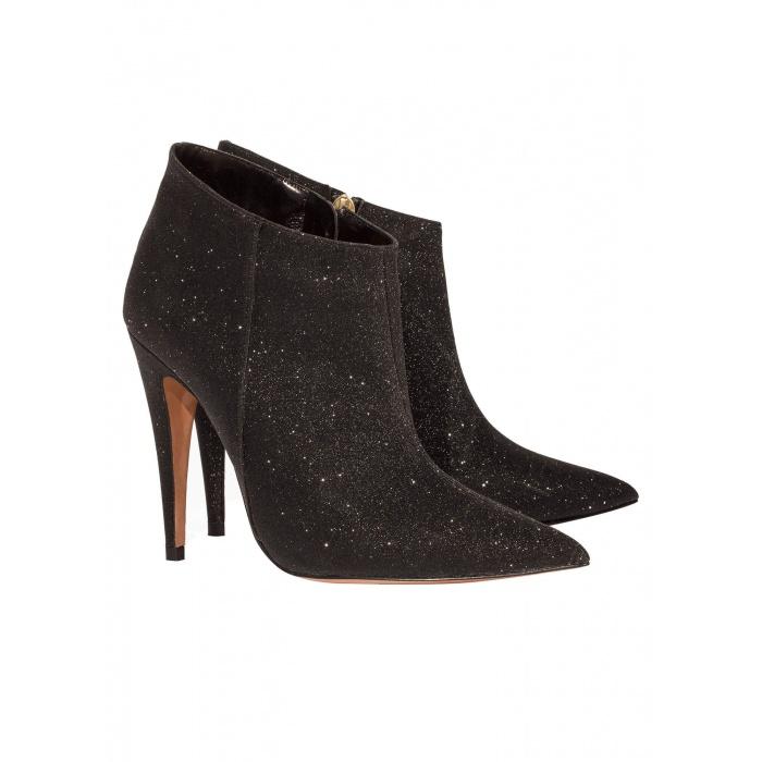 Black high heel ankle boots - online shoe store Pura Lopez