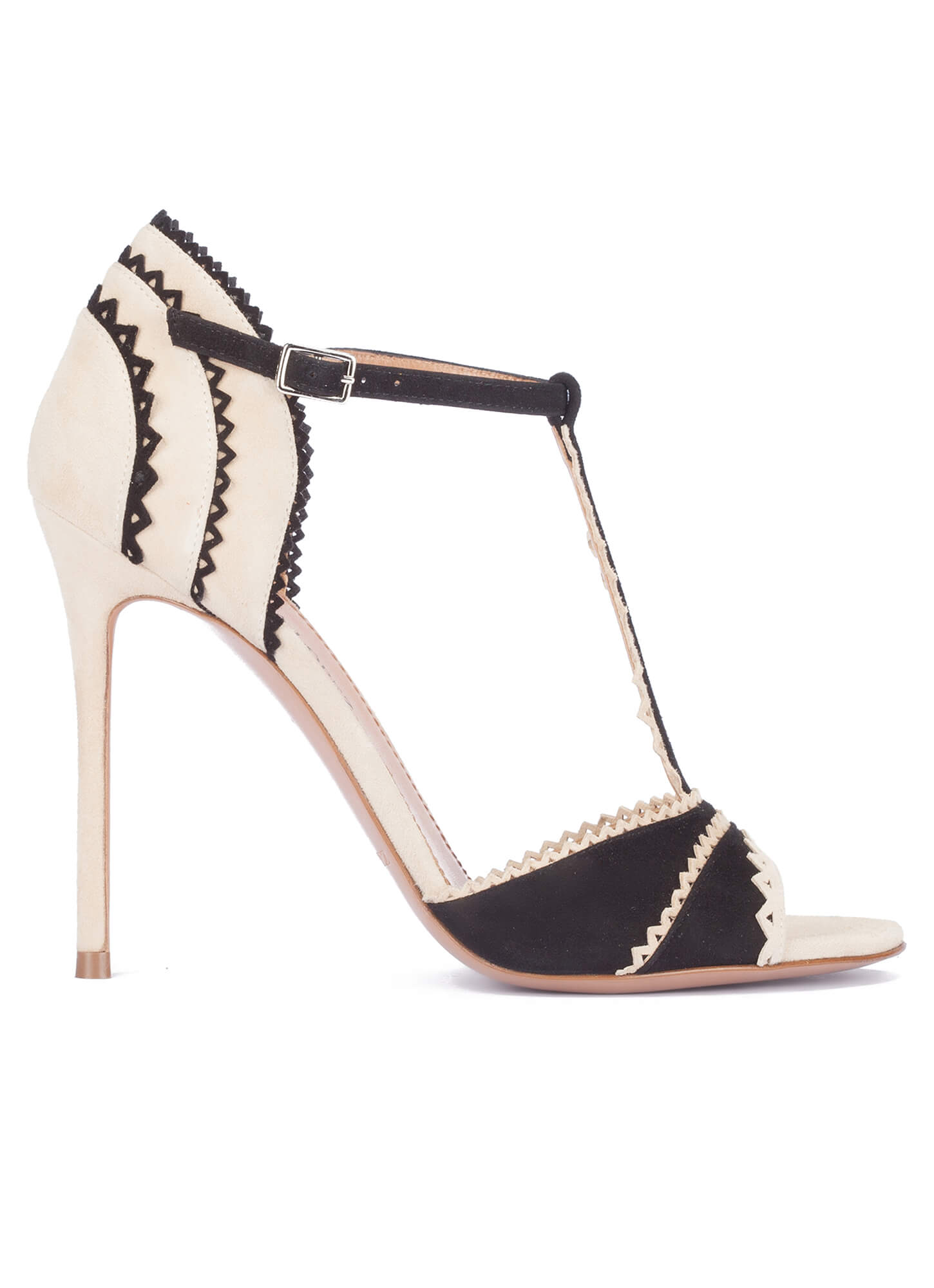 Pura Lopez High heeled sandals - black/sand N48pJfc12