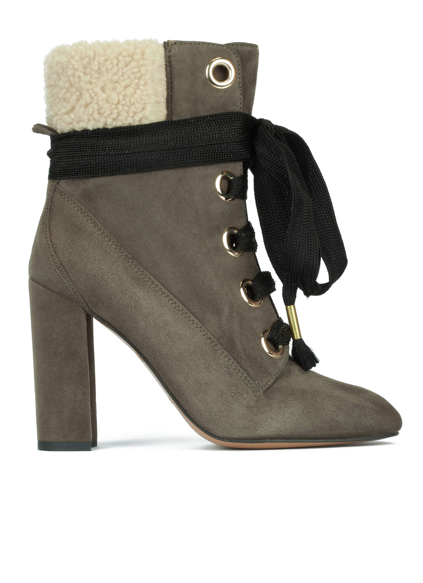 61c4184cae0 Green high heel ankle boots - online shoe store Pura Lopez . PURA LOPEZ