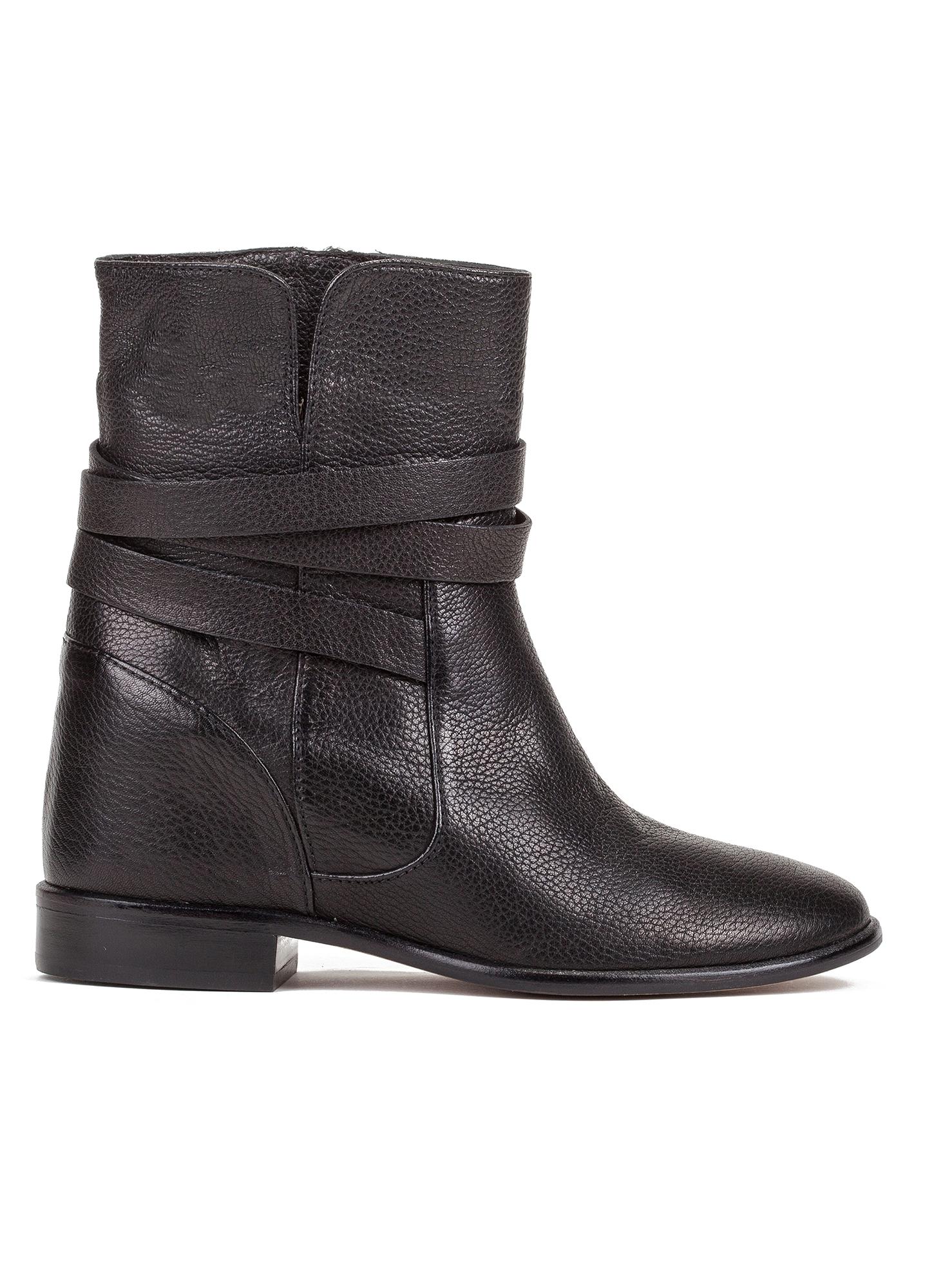 botines negros con cu a interior tienda de zapatos mujer