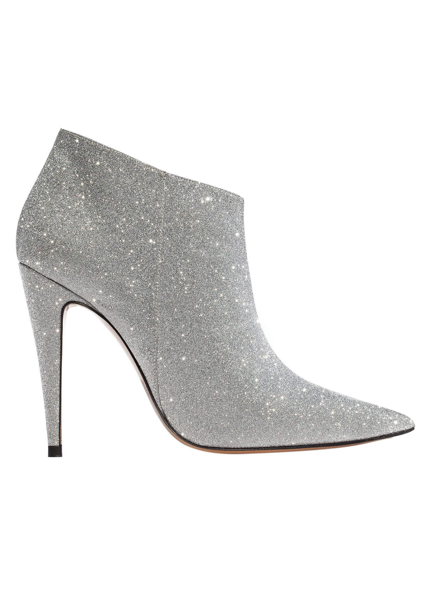 dfee9fe03821 Silver high heel ankle boots - online shoe store Pura Lopez . PURA LOPEZ