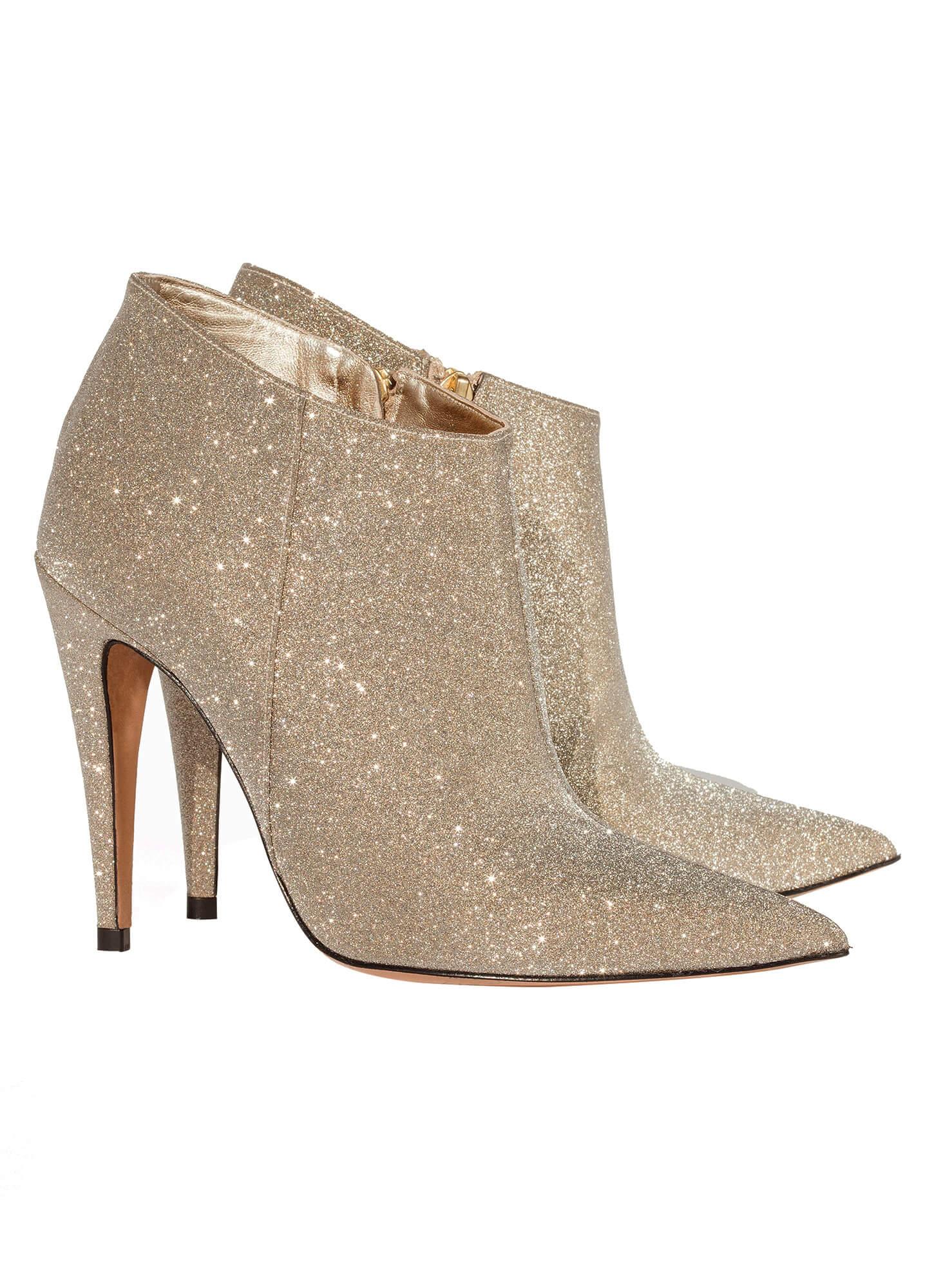 a505c5135518 Platinum high heel ankle boots - online shoe store Pura Lopez . PURA ...