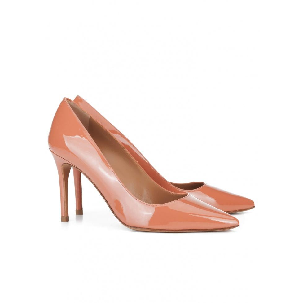 Old rose high heel pumps - online shoe store Pura Lopez