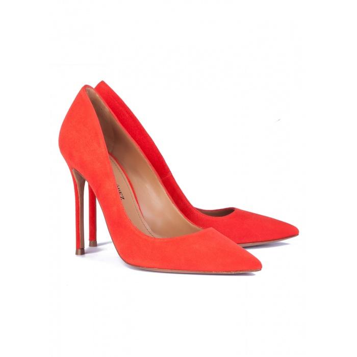 Red high heel pumps - online shoe store Pura Lopez