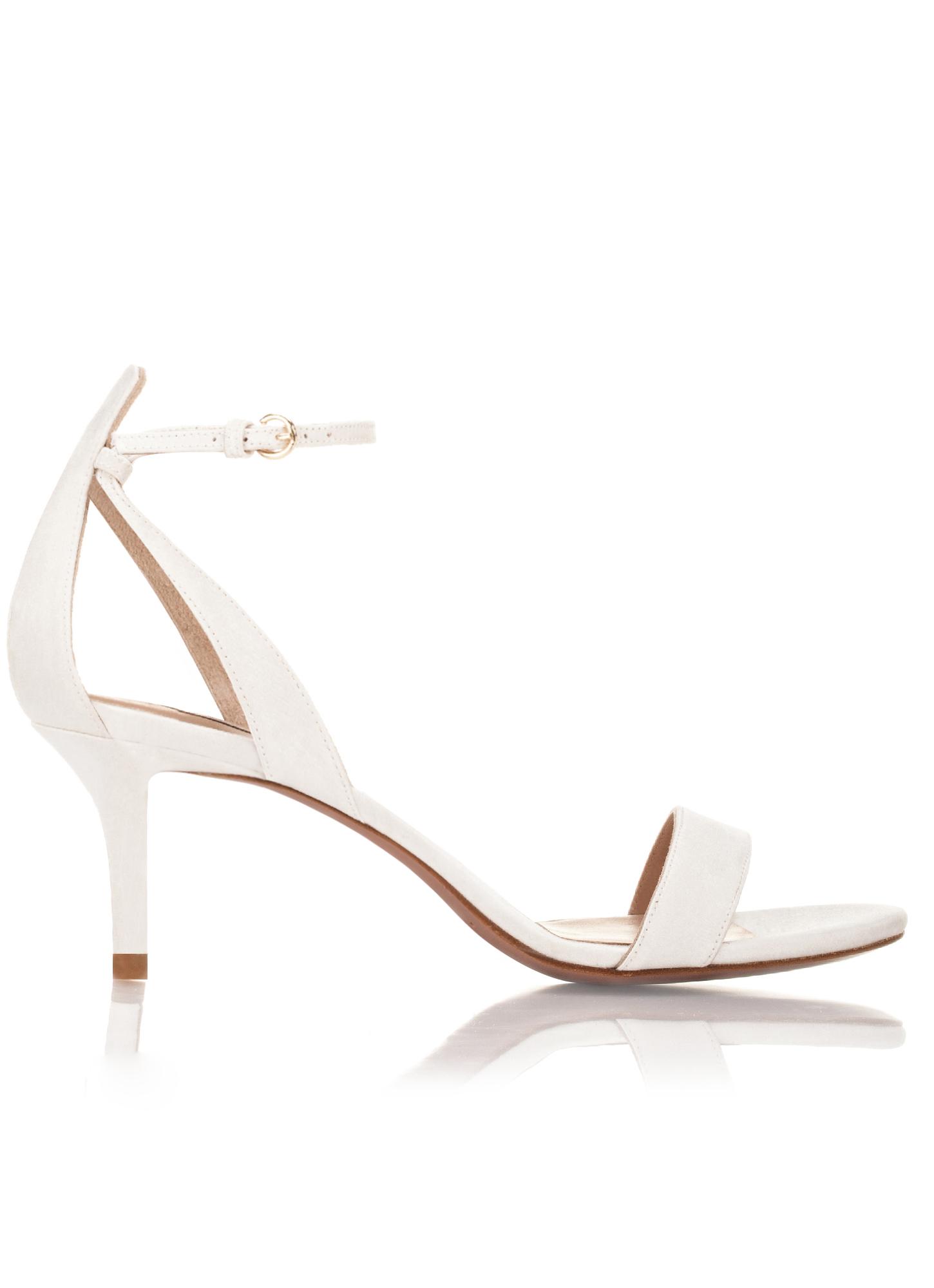 Zapatos Sandalias Tacon Medio