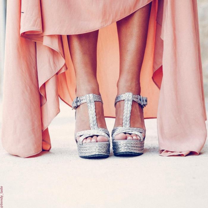 Espadrille sandals in silver raffia - online shoe store Pura Lopez