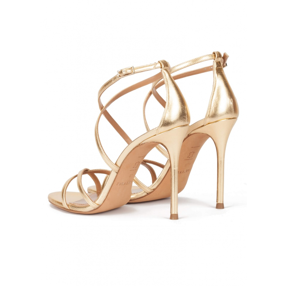 Oria zapatos de novia Pura López
