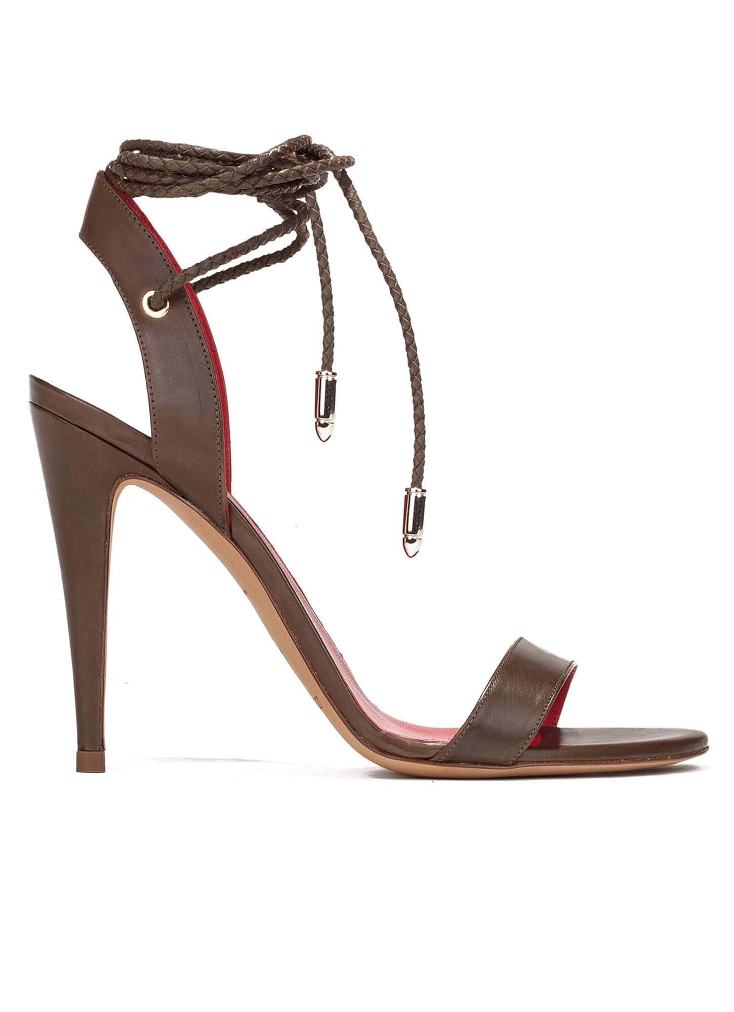 Pura Lopez Leather Sandals SKuxVhq