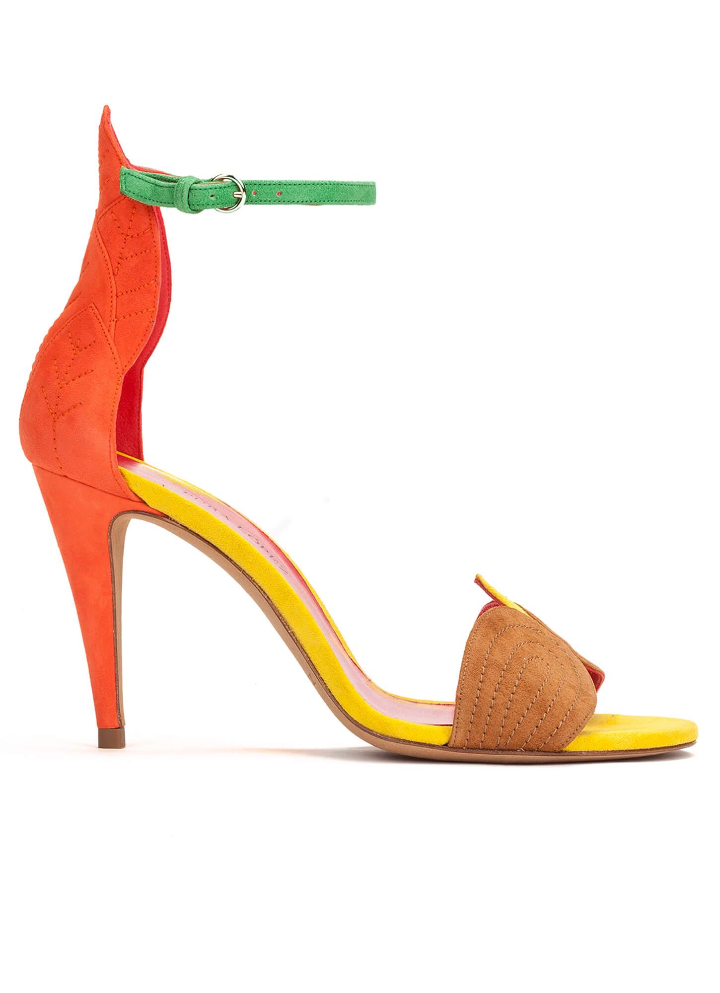 Zapatos Sandalias Pulsera Pura De Alto López Con Tacón Tienda CeBxdo