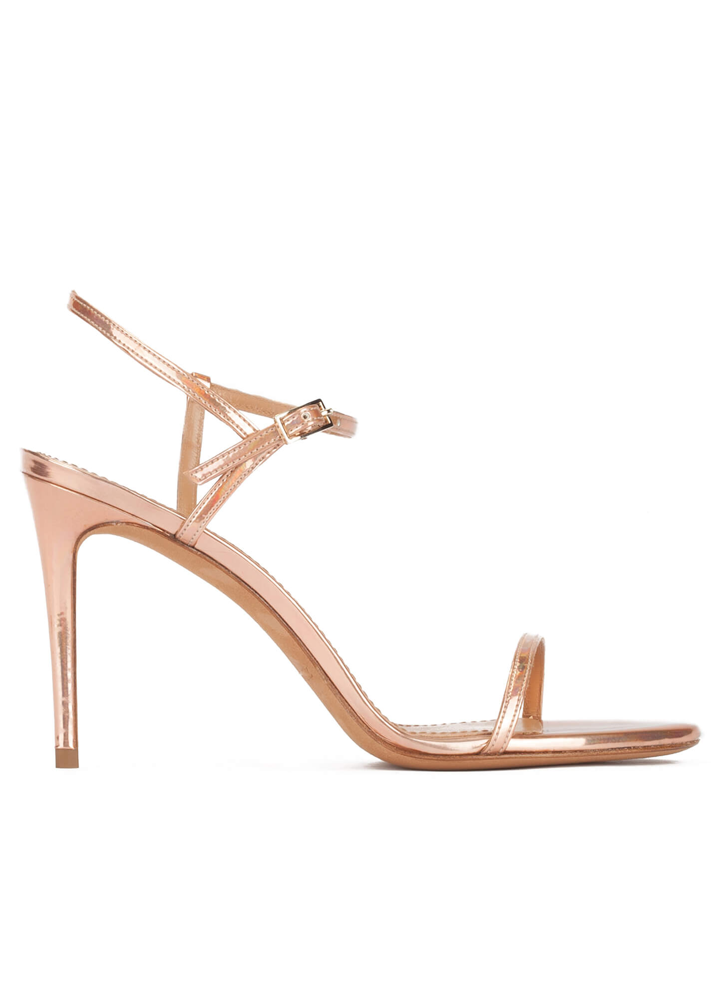 Heel Sandals Lopez Minimalist Design Rose LeatherPura High In Gold SUjqVGLzMp