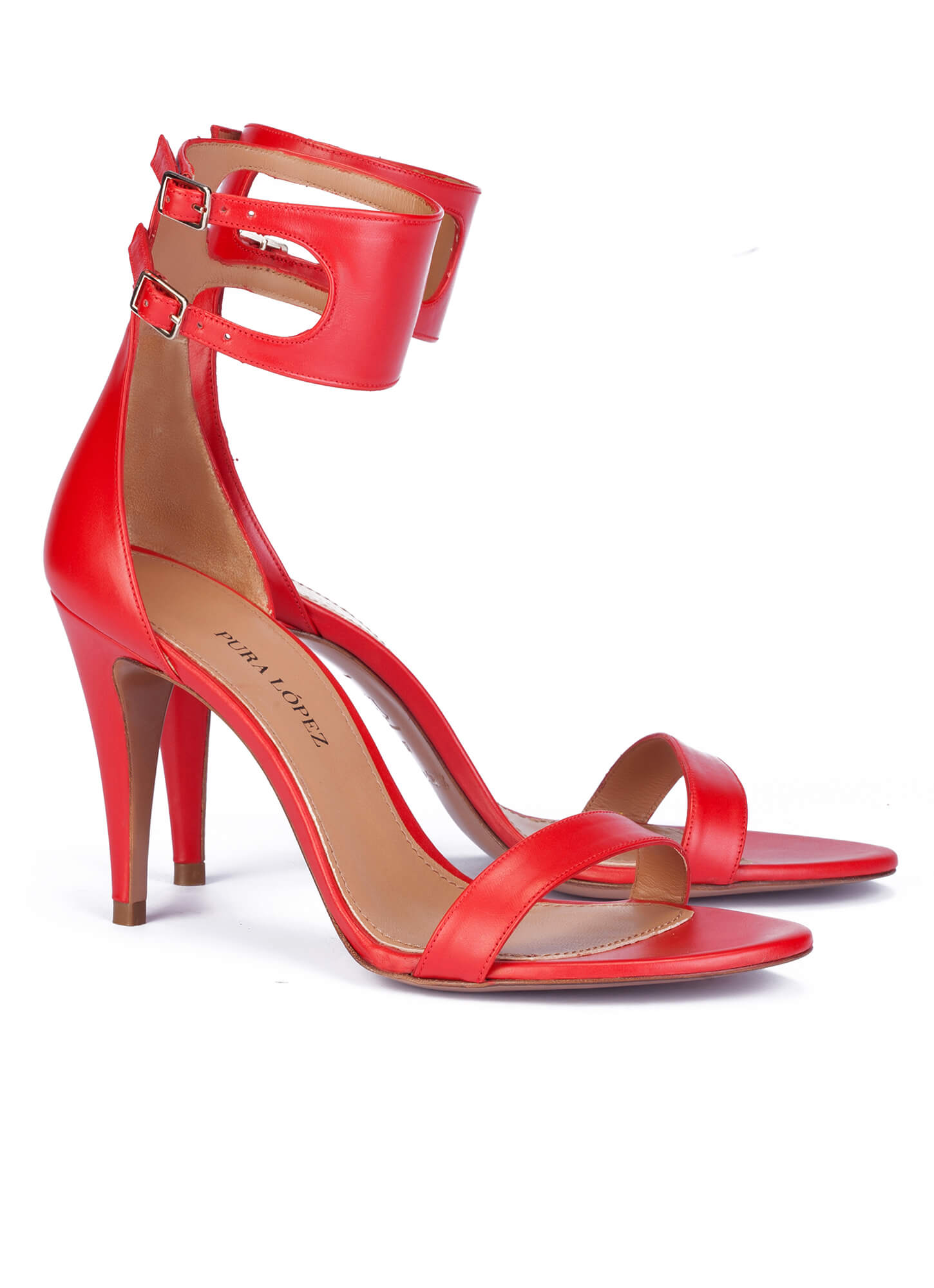 Pura LopezHigh heeled sandals - fuxia sCYdZ3F3