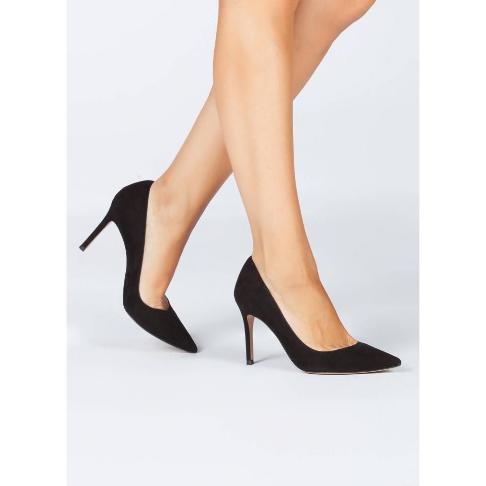 Zapatos negros de salón - tienda de zapatos Pura López
