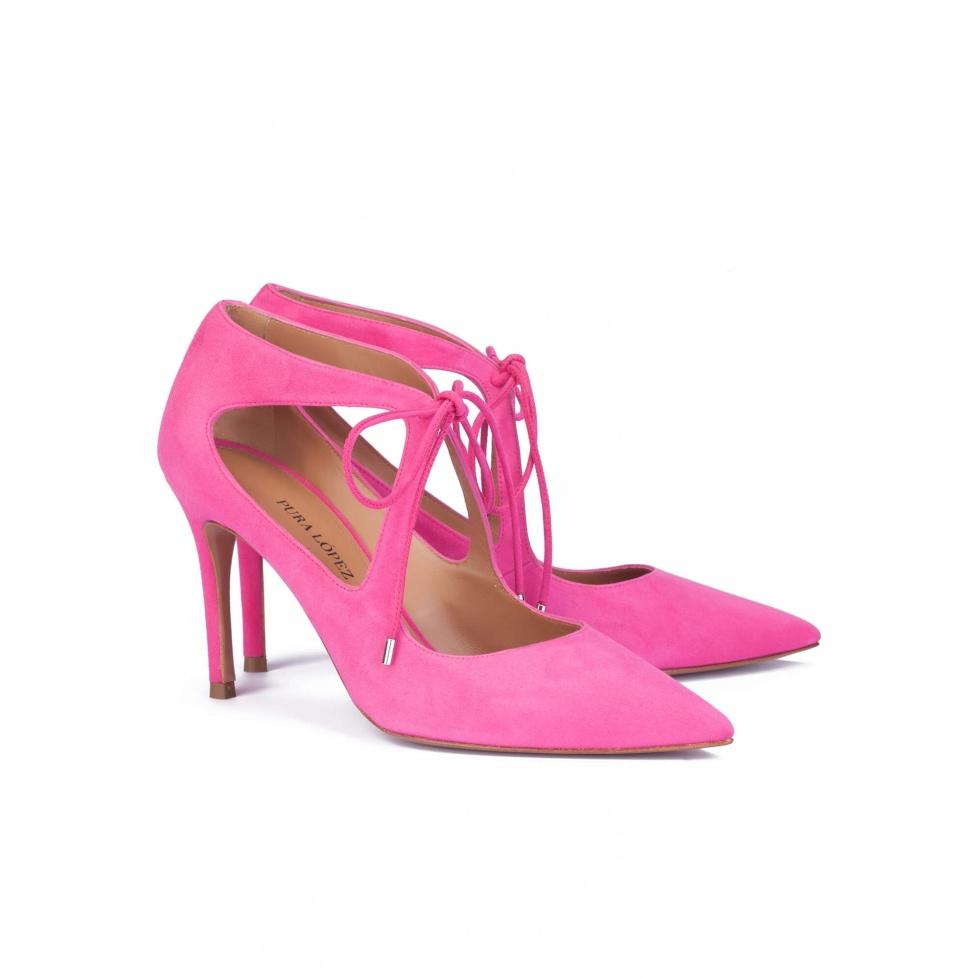 Fuxia high heel shoes - online shoe store Pura Lopez