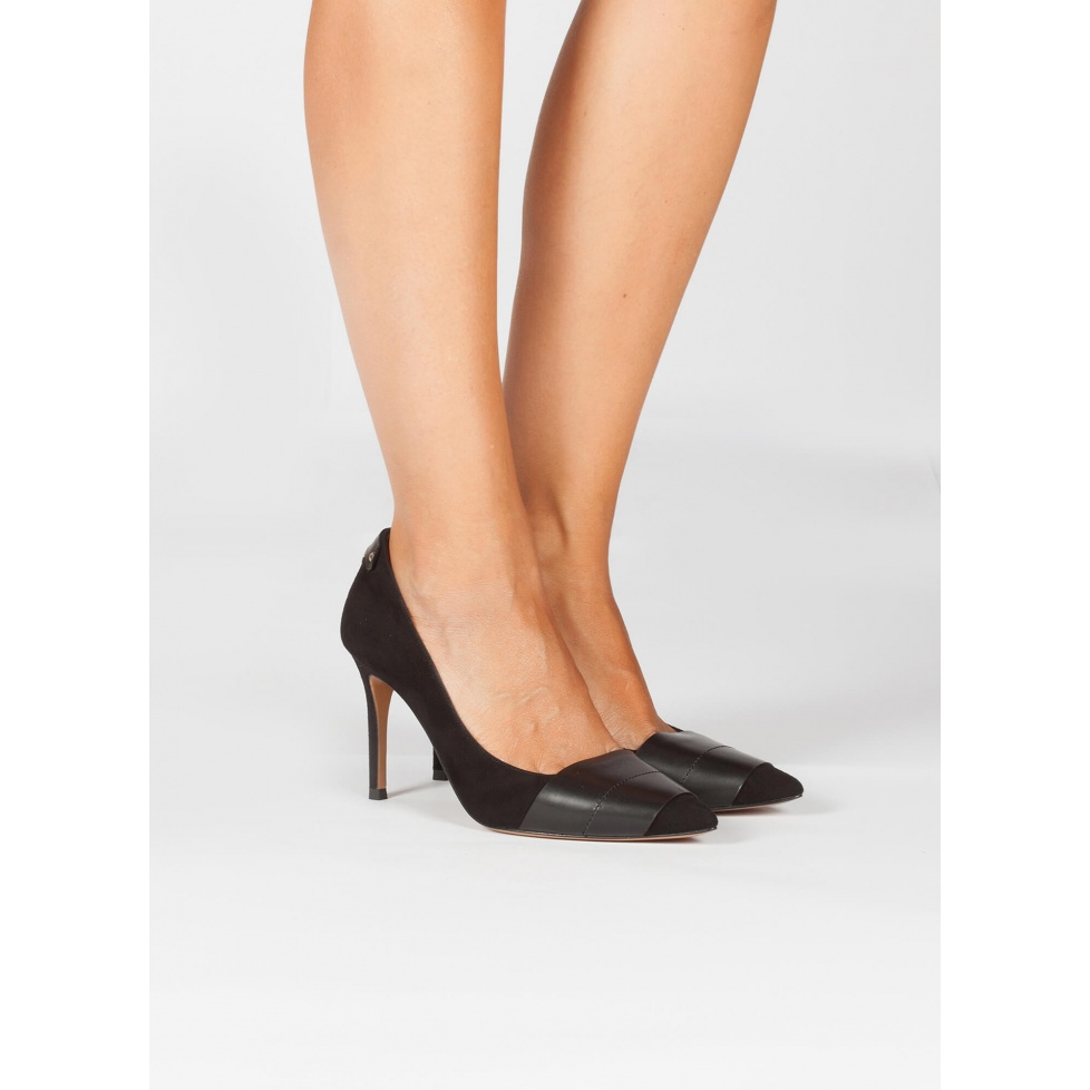 Black high heel pumps - online shoe store Pura Lopez