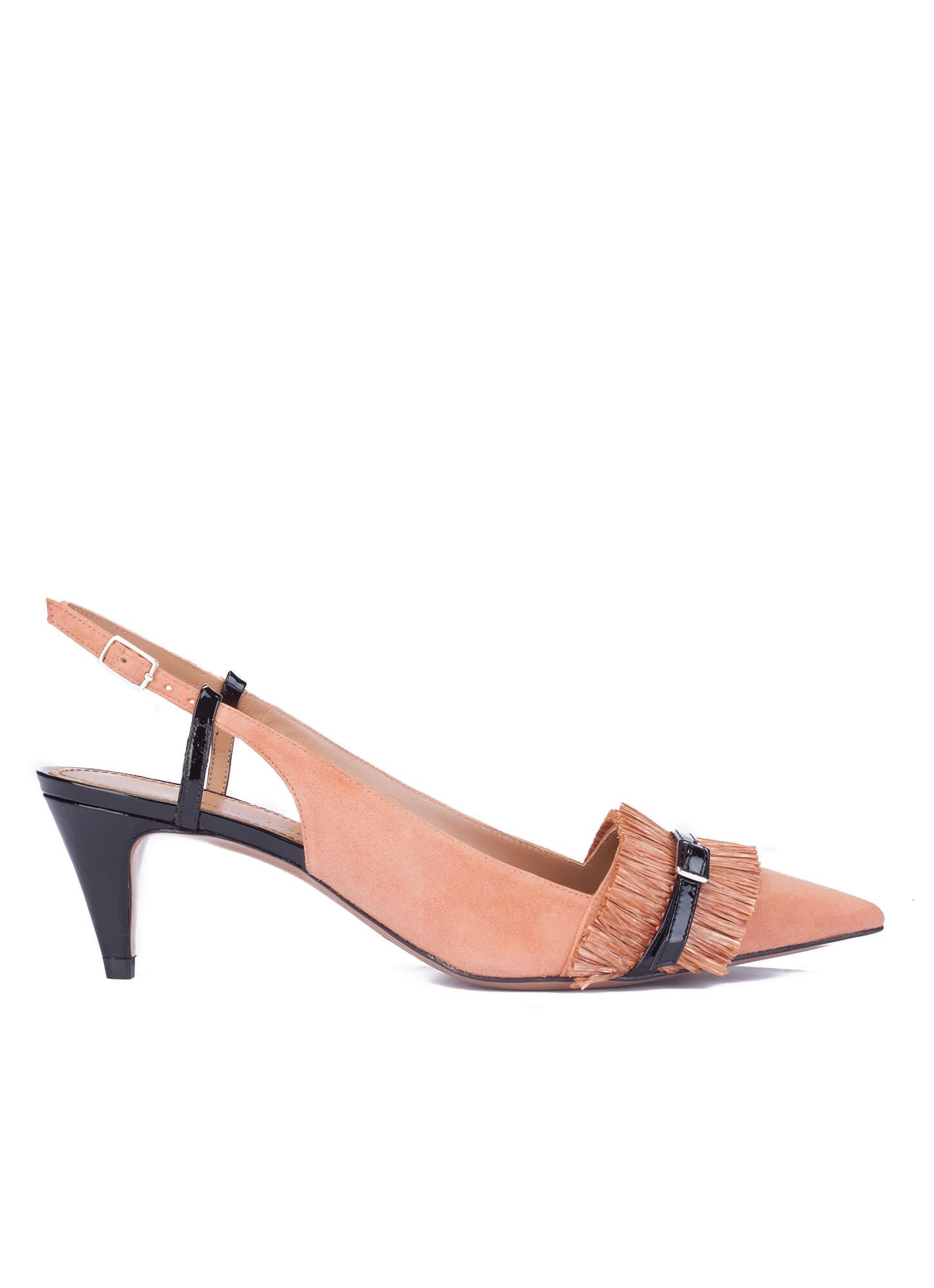 Zapatos De Salon Color Rosa Palo - Varios Zapatos